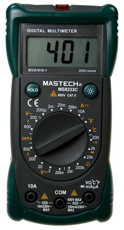Продаем мультиметры Mastech,  токоизмерительные клещи Mastech,  детектор - main